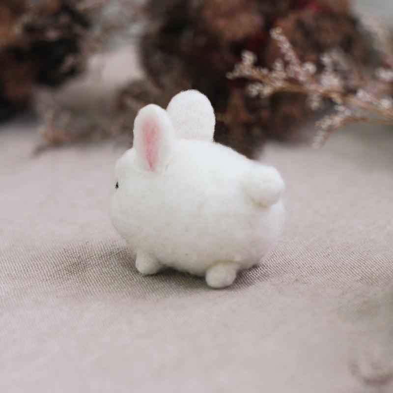 羊毛氈 兔子