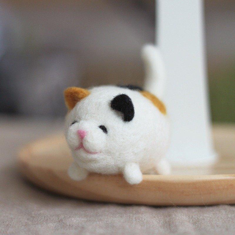 羊毛氈 貓