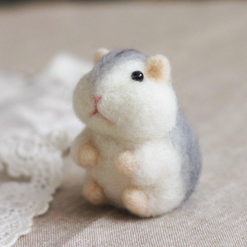 羊毛氈 倉鼠 三線鼠