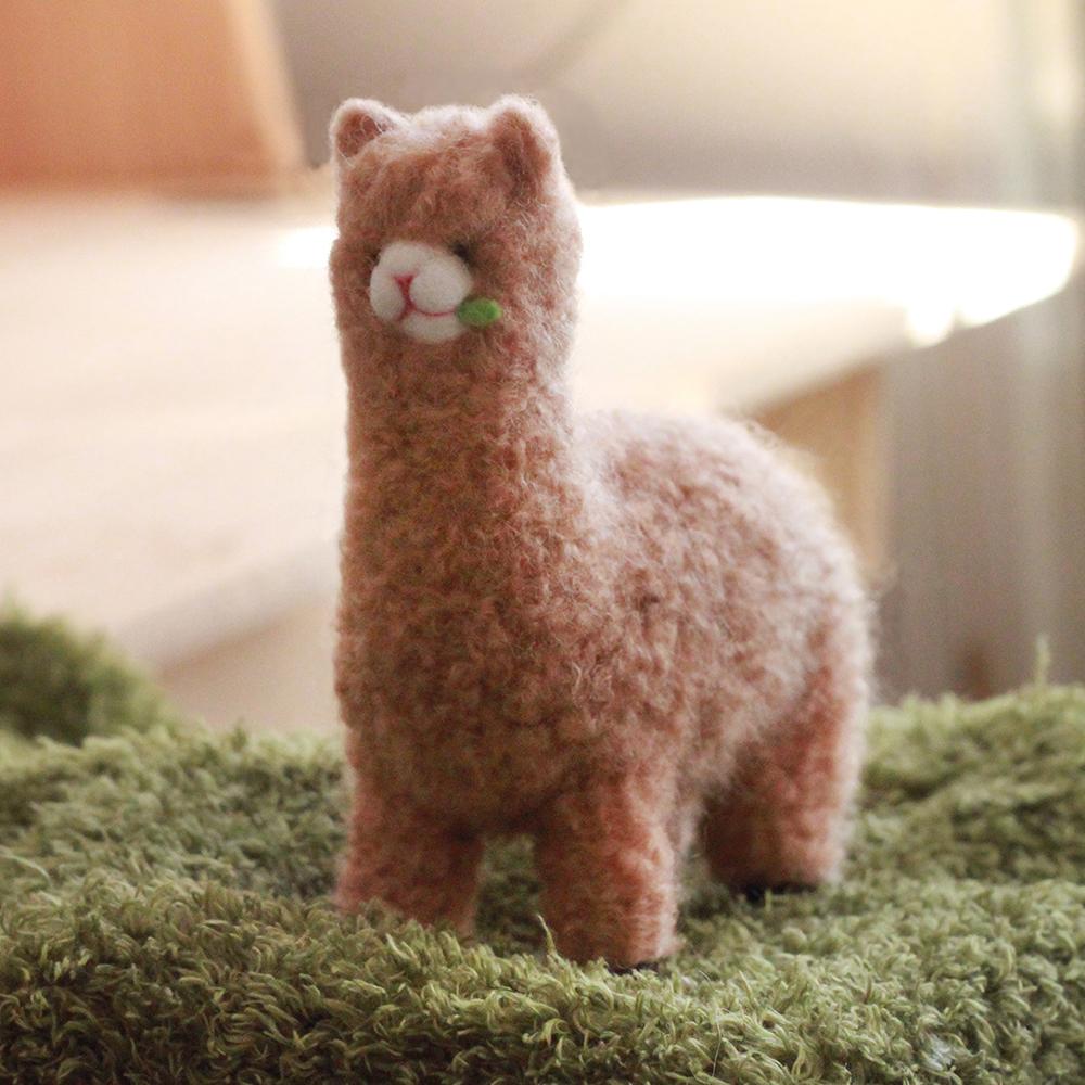 【新品上架】草泥馬吃草可活動羊毛氈