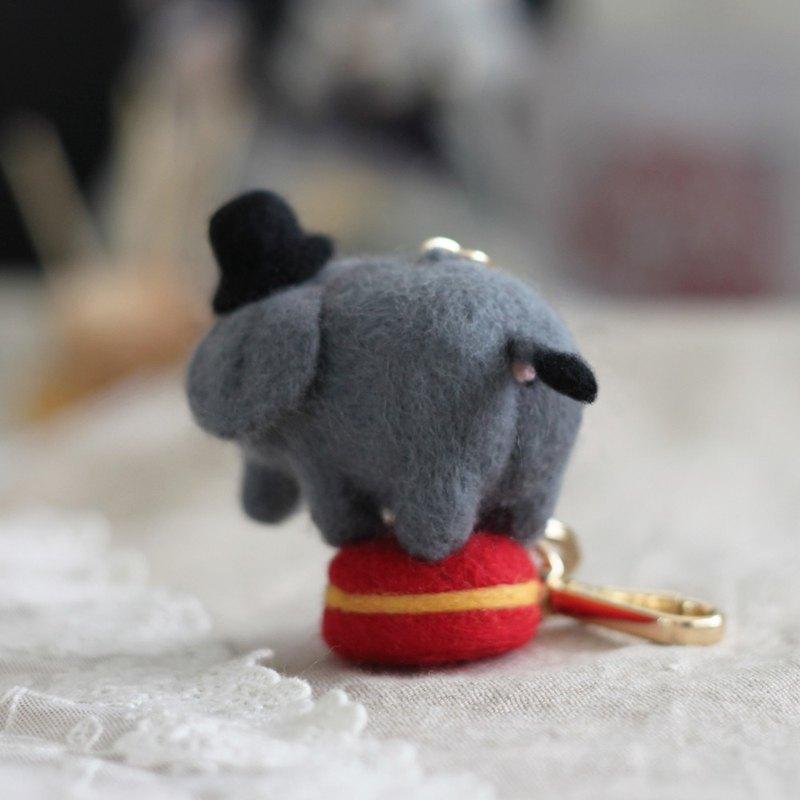 羊毛氈 大象