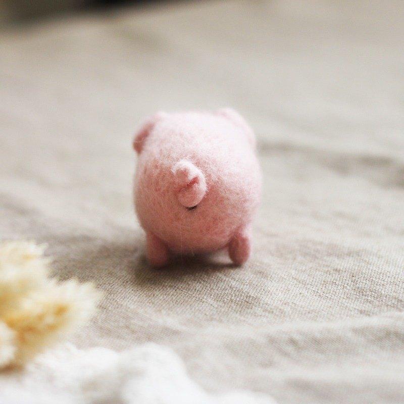 羊毛氈 豬