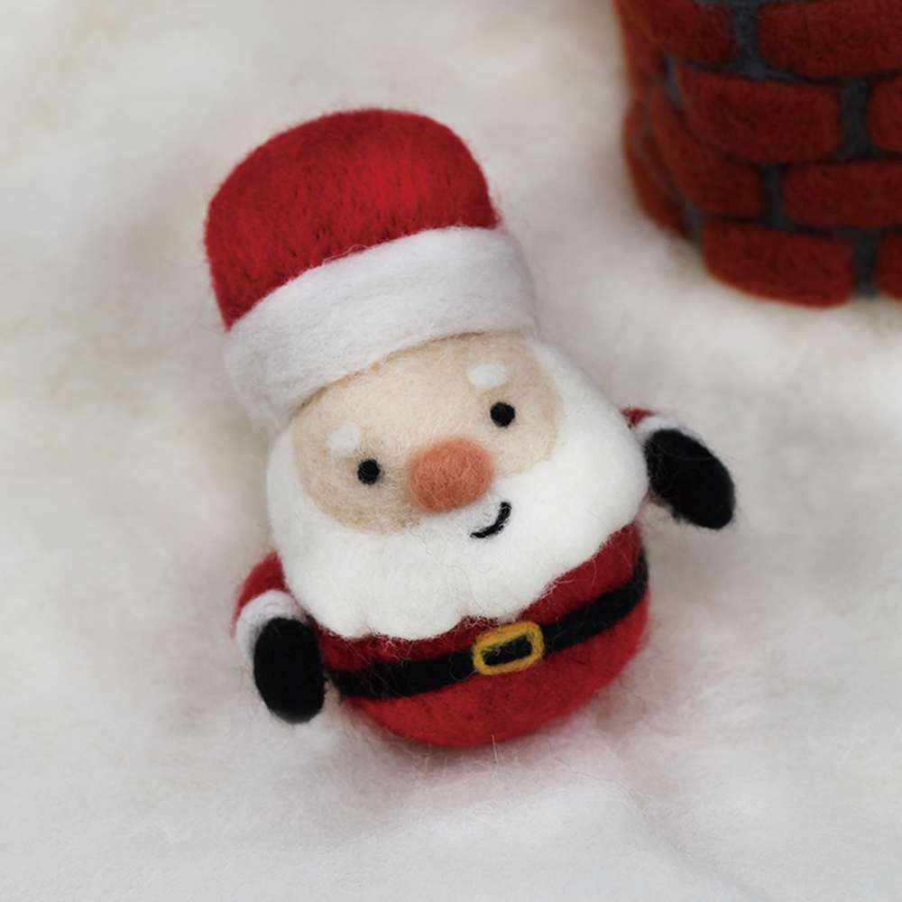 愛麗絲羊毛氈聖誕老人p01