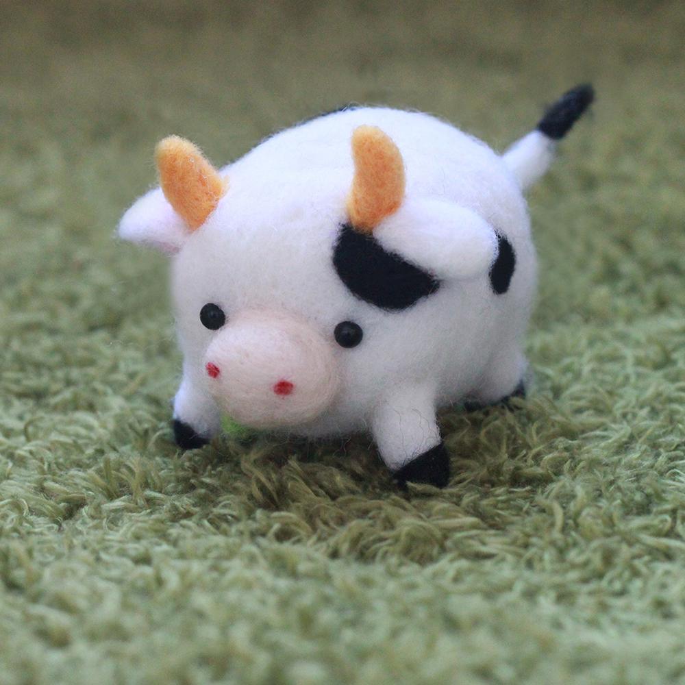 愛麗絲羊毛氈乳牛p02