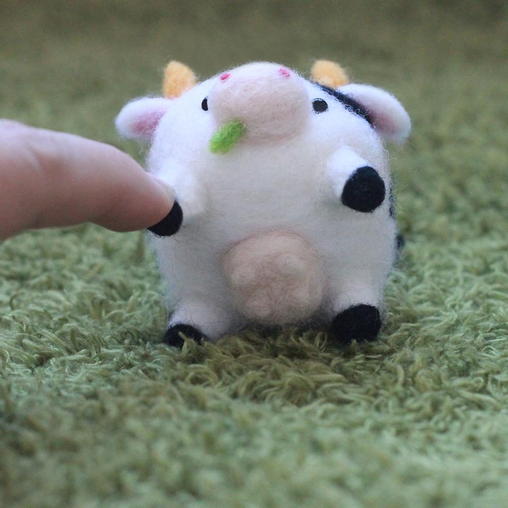 愛麗絲羊毛氈乳牛p05